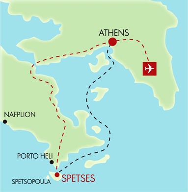 Holidays in Greece greek islands luxury villas Spetses Island