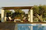 Luxury villas in Greece - Xenon Estate extra large swimming pool and kiosk